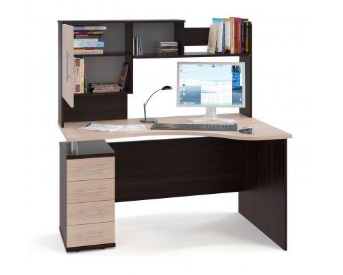 Компьютерный стол КСТ-104.1 + КН-14 (18006)