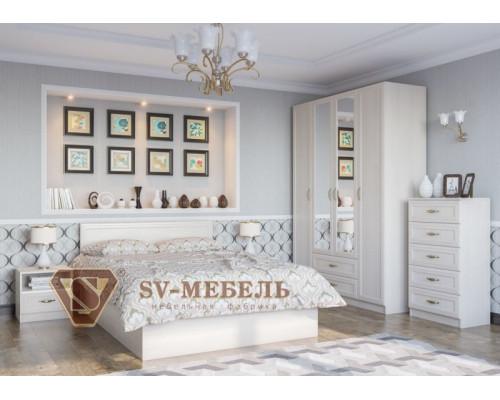 """Модульный спальный гарнитур """"Вега"""" (SV-мебель)"""