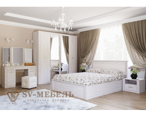 """Модульный спальный гарнитур """"ГАММА-20"""" (SV-мебель)"""