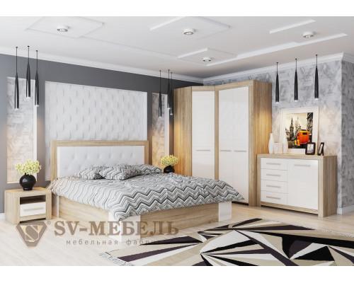 """Модульный спальный гарнитур """"Лагуна 5"""" (SV-мебель)"""
