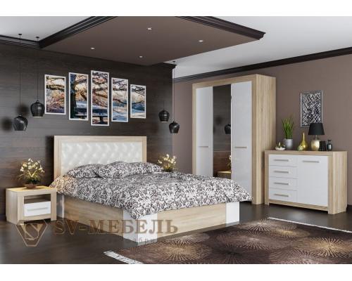 """Модульный спальный гарнитур """"Лагуна 6"""" (SV-мебель)"""