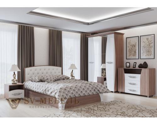 """Модульный спальный гарнитур """"Лагуна 7"""" (SV-мебель)"""