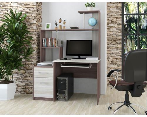 Стол компьютерный №2 (МФ БравоМебель)