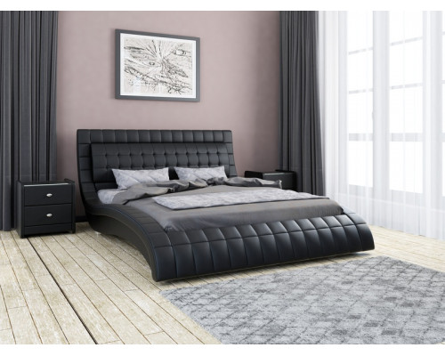 """Кровать """"Вирджиния"""" Экокожа (18005)"""