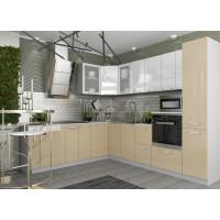 Модульный кухонный гарнитур «Капля» (ДСВ-мебель)